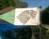 Game Of Thrones Stark Banner Car Antenna Size