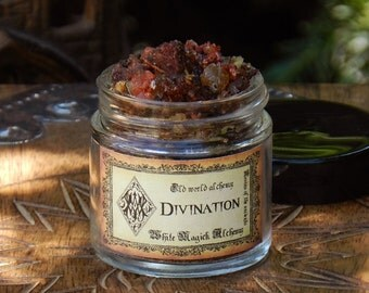 DIVINATION Resins of the Ancients . Old World Alchemy