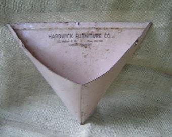 Advertising Metal Dust Pan Vintage 1950s