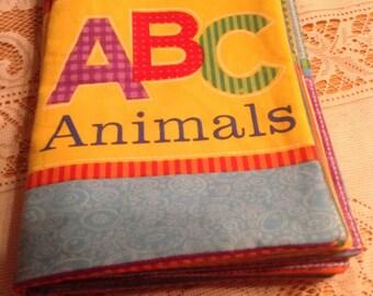 ABC fabric book