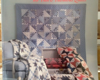 Book - Rotary Riot: 40 Fast and Fabulous Quilts by Judy Hopkins and Nancy J. Martin