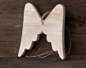 Hanging Christmas Wings, Christmas Ornament,  Christmas White Wings