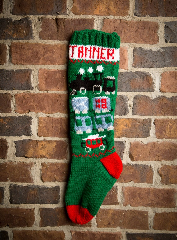 Christmas Stocking Patterns Knit