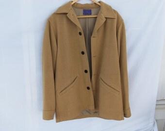Vintage Pendleton 1960's Wool Jacket Size Small