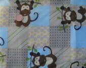 Animal Cotton Flannel Fabric