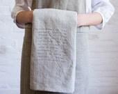 housekeeping tea towel