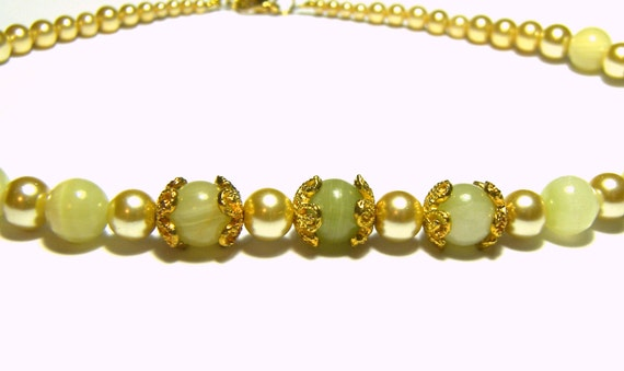 Italian Onyx and Ivory Pearl Statement Necklace Top Selling Jewelry Popular Jewelry Pearl Jewelry Womens Jewelry Gifts