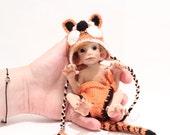 OOAK Tiger Baby - by Malga
