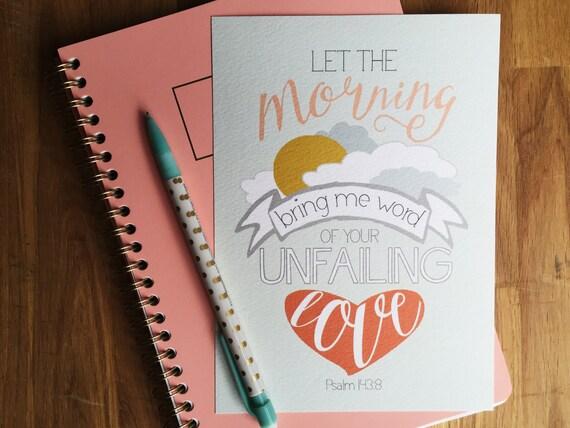 Unfailing Love - 5x7 print