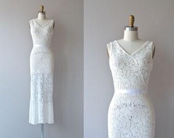 Odette wedding gown | 1930s wedding dress | lace 30s dress