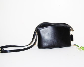 Coach Vintage Saddle Black Anderson with Tag