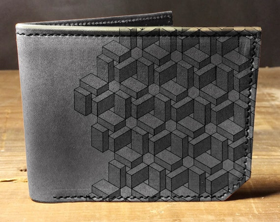 wallet - leather wallet - boxes wallet - mens wallet - 004