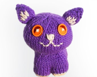 KNITTING PATTERN for George the Plush Cat