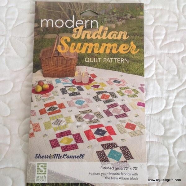 Modern Indian Summer Quilt Pattern Booklet