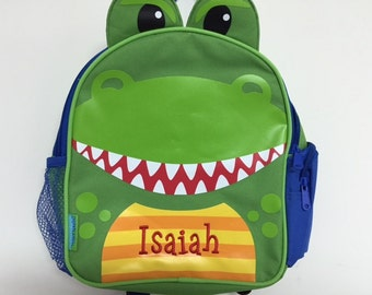 Personalized Stephen Joseph Mini Sidekicks Dinosaur Backpack