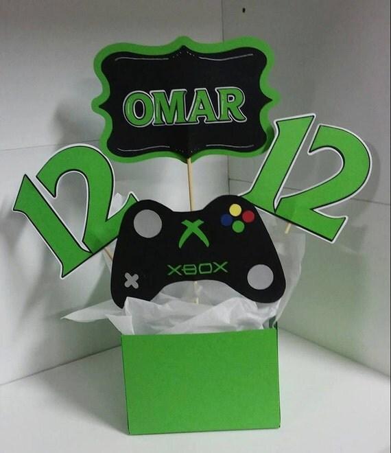 Xbox party centerpiece