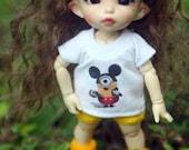 B305 - Lati Yellow / pukifee Outfits - T-shirt  and short pants.