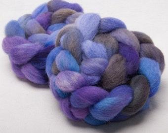 CHEVIOT 100g hand painted BRITISH wool tops roving fibre fiber Geneva