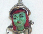 Vintage Asian Princess Pin Possible Selro