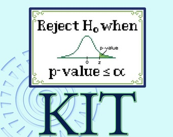 P-value Guide Cross-stitch Kit