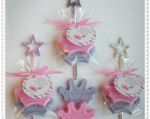 20 Princess Crown Soap Party Shower Favors (Tags Included)