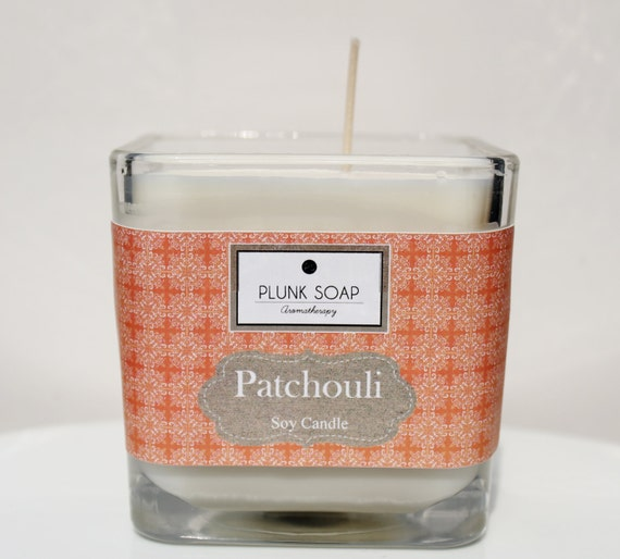 SALE Patchouli Soy Candle 16 oz