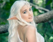Elf Ears: LARGE ANIME/MANGA -- handmade, latex ear tips, great for cosplay, costumes, Halloween, Christmas