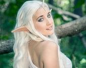 Handmade LARGE ANIME/MANGA Elf Ears-- latex ear tips, great for cosplay, costumes, Halloween, Christmas