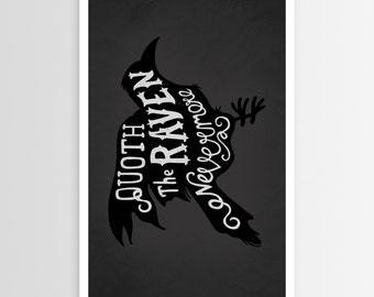 Alpha-Tone's Quoth the Raven POSTER
