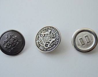 Miscellaneous Metal Buttons - 3