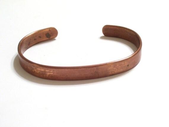 Vintage SABONA Copper Cuff Bracelet