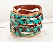 Leather Cuff Jewelry Bracelet February Finds Wristband Wrist Cuffs - Leather Accessories 2016 Fashion