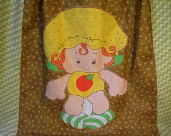 Vintage Strawberry Shortcake Long Hippie Skirt Apple Dumplin'