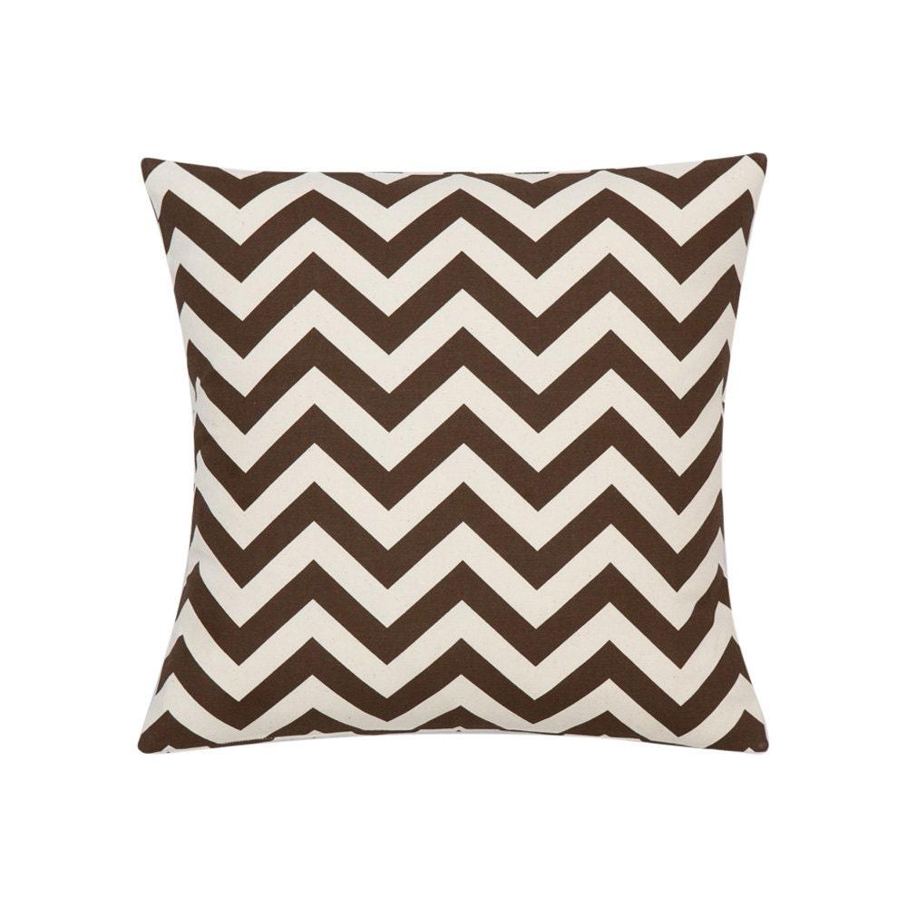 Large Brown Decorative Pillows : BROWN Pillow Cover.Decorator Pillow Cover.Home Decor.Large
