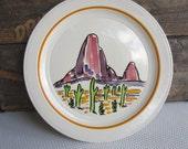Vintage Gale Turnbull Sentinels Vernon Kilns Native American Series Desert