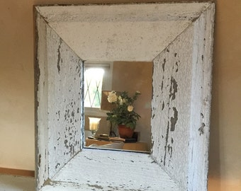 Salvaged Barnwood Mirror