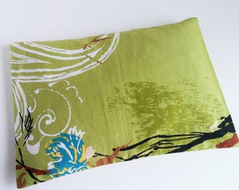 Green Abstract Microwaveable Heating Pad ~Unique gift for Teachers or Coworkers Great Idea for Gift Baskets Add On