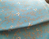 mill fabric  corporation  upholstery fabric butterfly springy  vintage