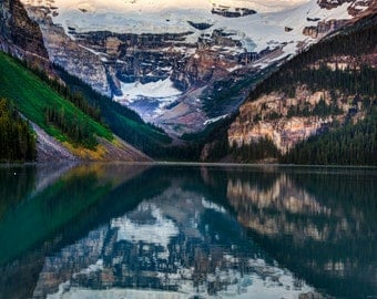 Lake Louise Photo Banff Photography Jasper Alberta Canadian Rockies Mountains Landscape Wall Art Canada can9