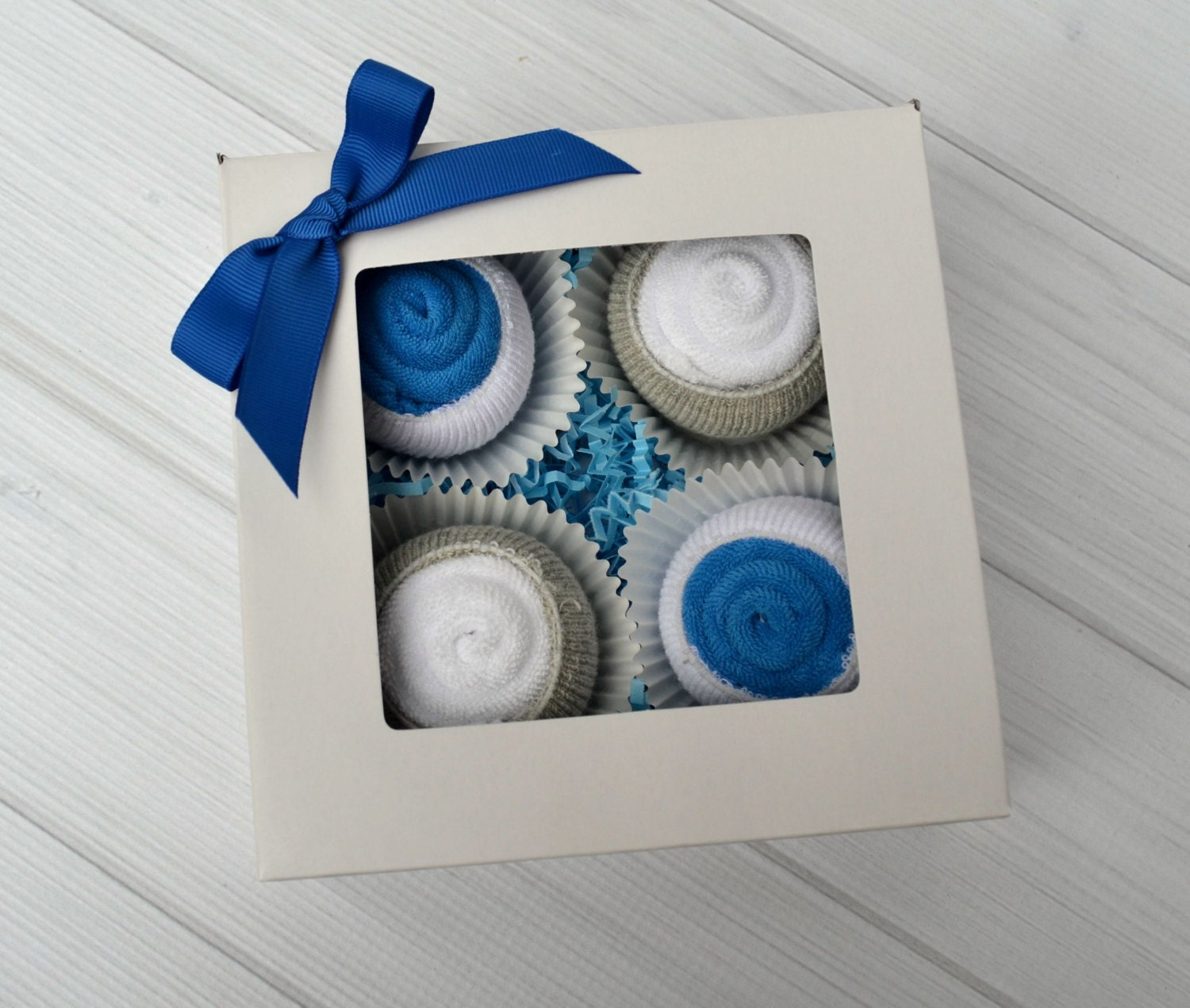 Baby Boy Gifts To Sew : Baby boy gift baskets washcloth cupcakes