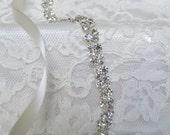 Crystal Rhinestone Bridal Sash,Wedding sash,Bridal Accessories,Bridal Belt,Style # 8