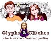 Glyphs & Glitches Membership (Cartoon Blog)