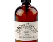 Organic Baby Lather Body and Hair Wash- 12oz