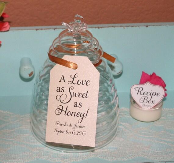 Wedding Favor Honey Tags : Wedding Favor Tags, Honey Tags Love is Sweet, Honey Wedding Favor Tags ...