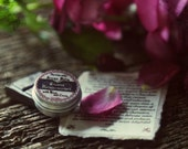 Sweet Enslavement Aroma Balm. With Rose and Cocoa. Vegan, Botanical, Natural. Alluring and feminine. SAMPLE