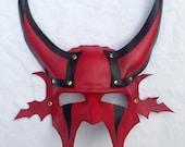 Big Devil Leather Mask