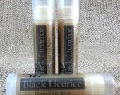 Black Licorice Lip Balm - All Natural Lip Balm