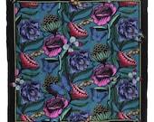 Flowers & Butterflies Silk Scarf/Wrap