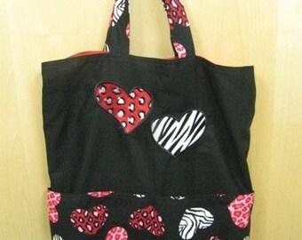 Zoo Love Tote Bag Shopping Bag Diaper Bag