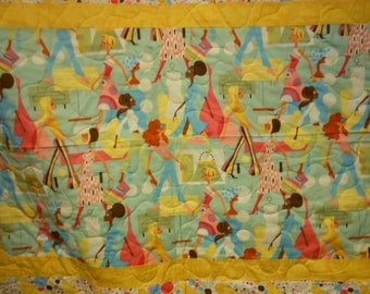 Twin Size Quilt Fashion Girls 118